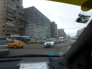 Taxifahrt in Bukarest